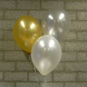Ballon, metallic
