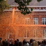 opening Erasmus University College Rotterdam met grote strik