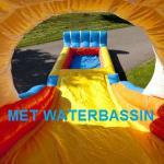 beach waterglijbaan