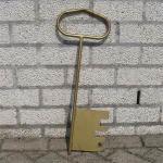 grote sleutel voor opening
