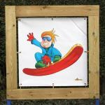 snowboard decor 1