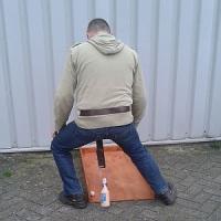 Oud Hollands Bierfles Slingeren huren 2