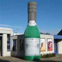 fles bubble wijn opblaasbaar champagne (1)
