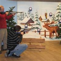 winter laser schieten