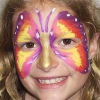 schminken - vlinder